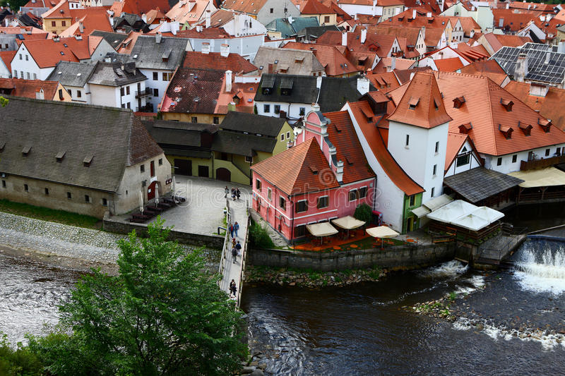 The Famous Town,Cesky Krumlov Royalty Free Stock Images