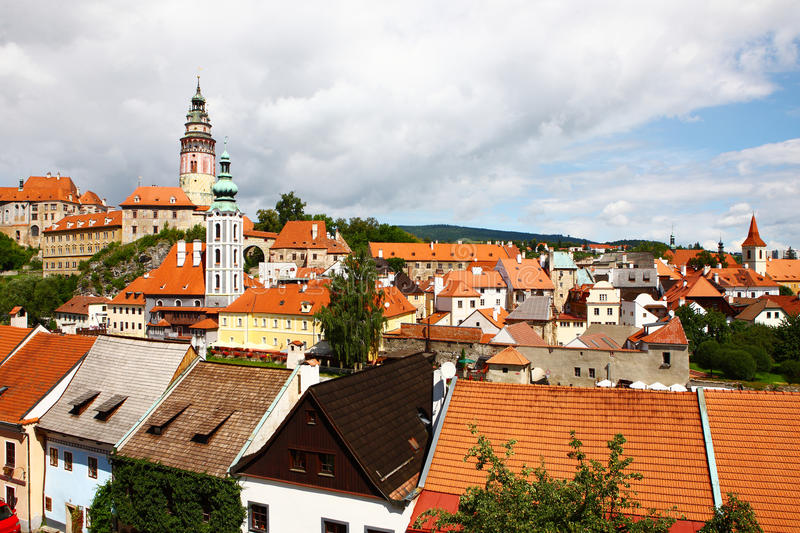 Download The Famous Town Cesky Krumlov Stock Photo - Image: 30320808