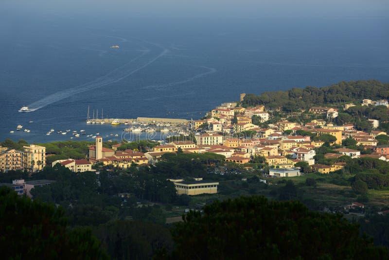 Marina di Campo, Tuscany, Elba, Italy royalty free stock photo