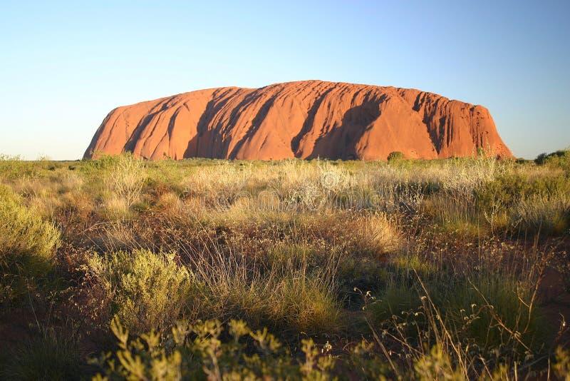 Famous Uluru stock images