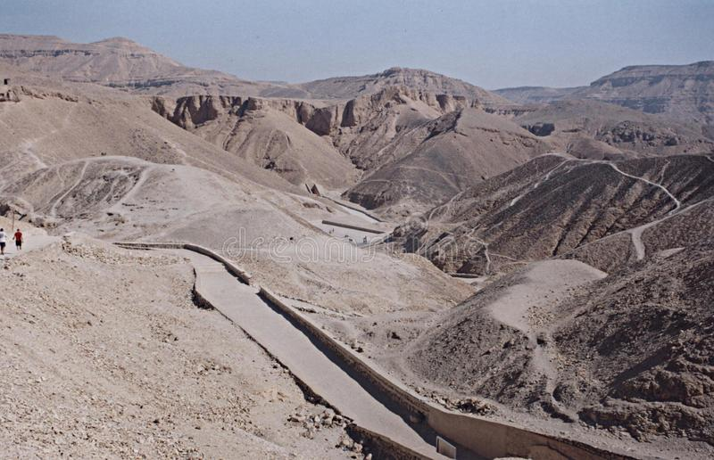 Valley of kings royalty free stock image
