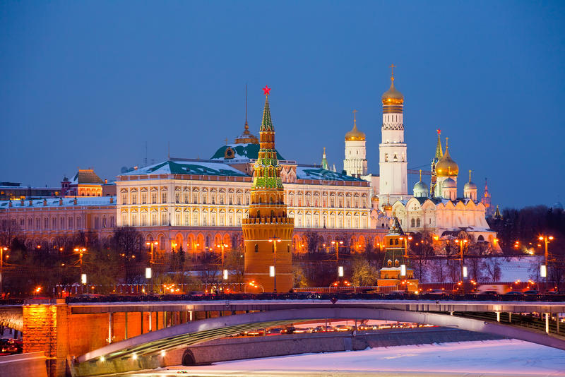 Download Famous  View Of Moscow Kremlin Stock Photo - Image: 26614604