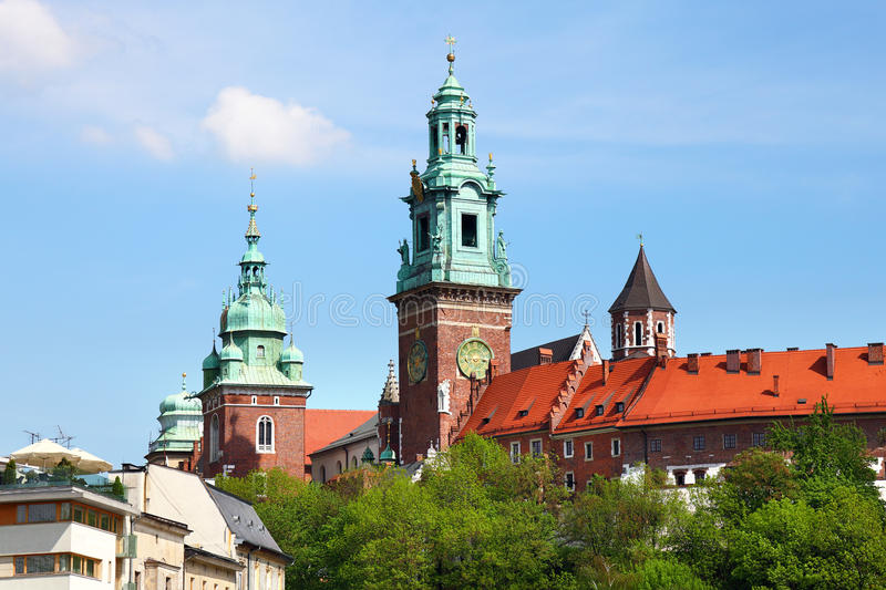 Download Famous Wawel Cathedral stock image. Image of malopolska - 26978931