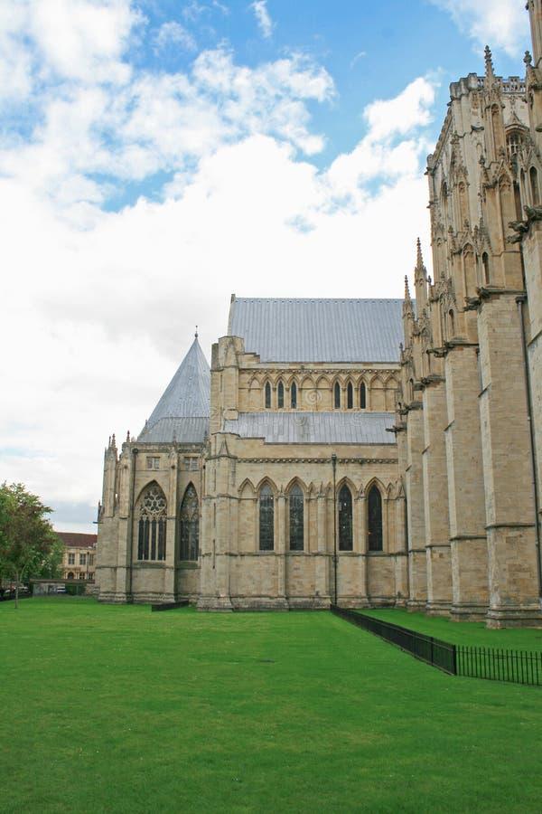 Famous York Minster, York, UK royalty free stock photos