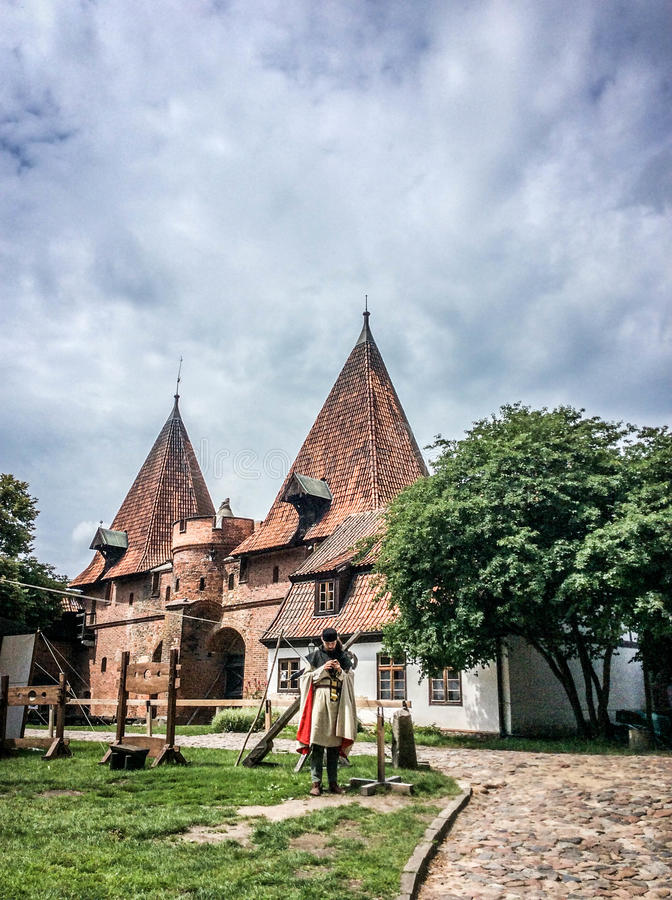 Famouse castel in Malbork. / Marienburg, Poland royalty free stock images