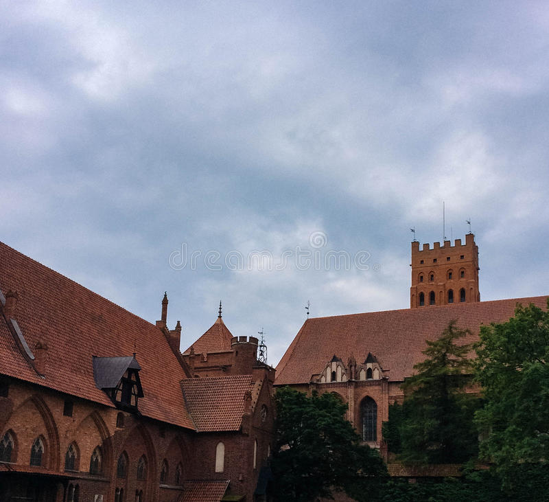 Famouse castel in Malbork. / Marienburg, Poland royalty free stock photography