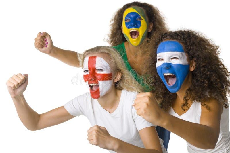 fanów sportu international s zdjęcia stock
