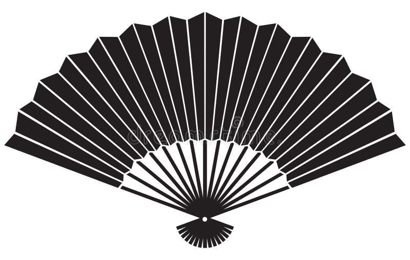 Fan stock illustration