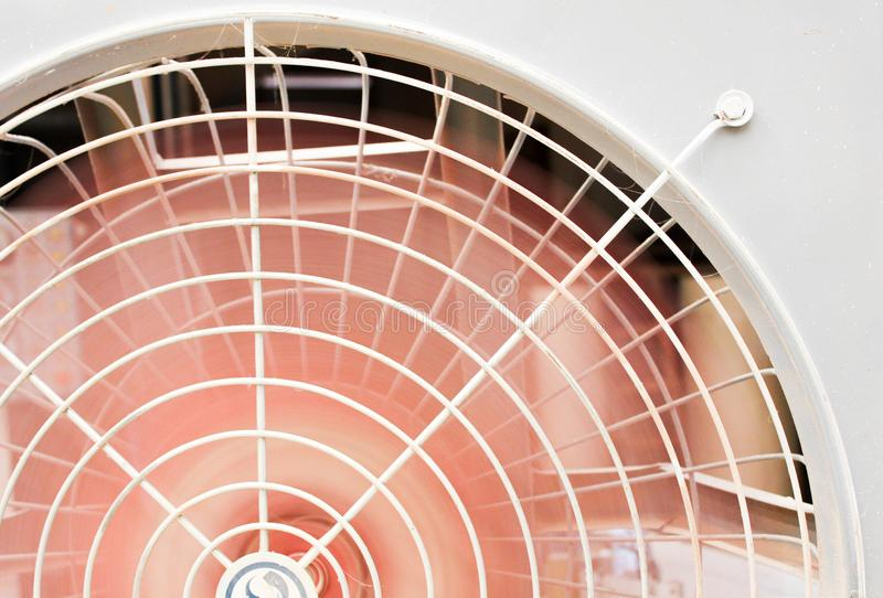 Retro electric fan for background concept close-up stock photos