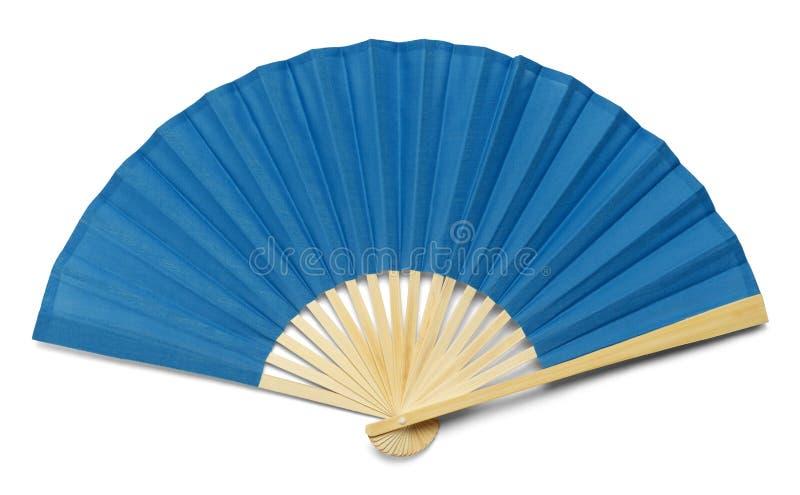 Fan blu fotografia stock libera da diritti