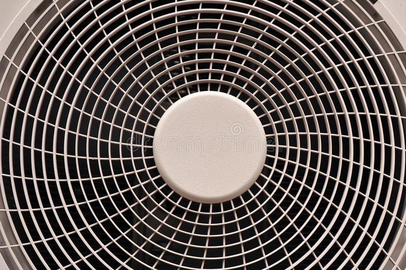 Fan of condenser is the machine equipment ventilation design for. The fan of condenser is the machine equipment ventilation design for heat transfer of air stock photos