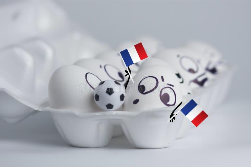 fan de la France du football mignonne photos libres de droits