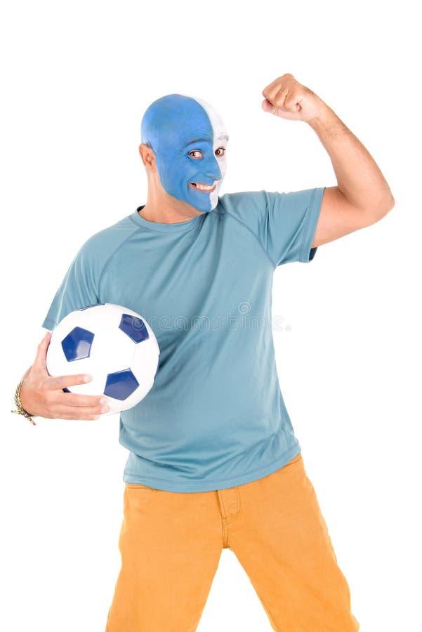 Fan di calcio immagini stock libere da diritti
