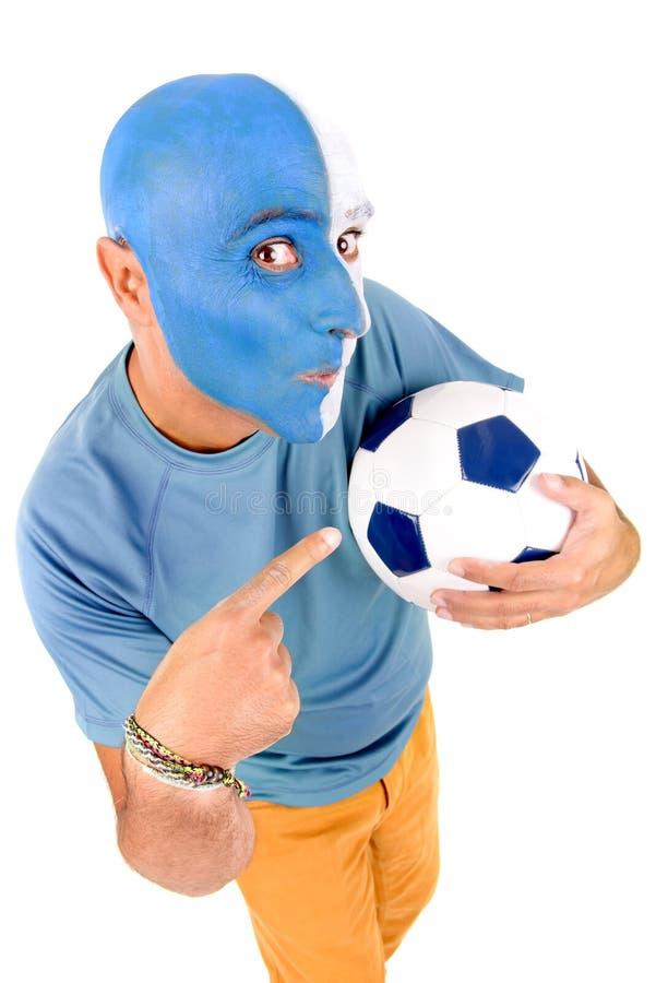 Fan di calcio immagine stock libera da diritti