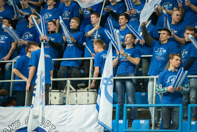 Fan dynamo Moskwa obraz royalty free