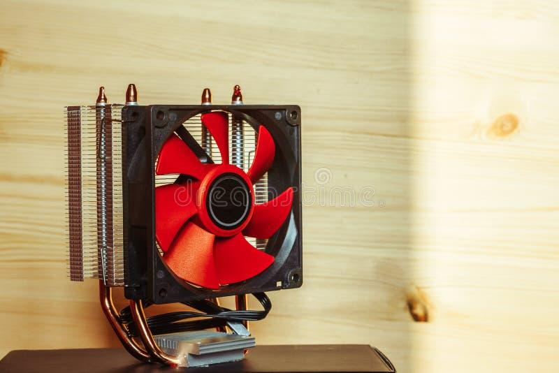 Fan för CPU fotografering för bildbyråer