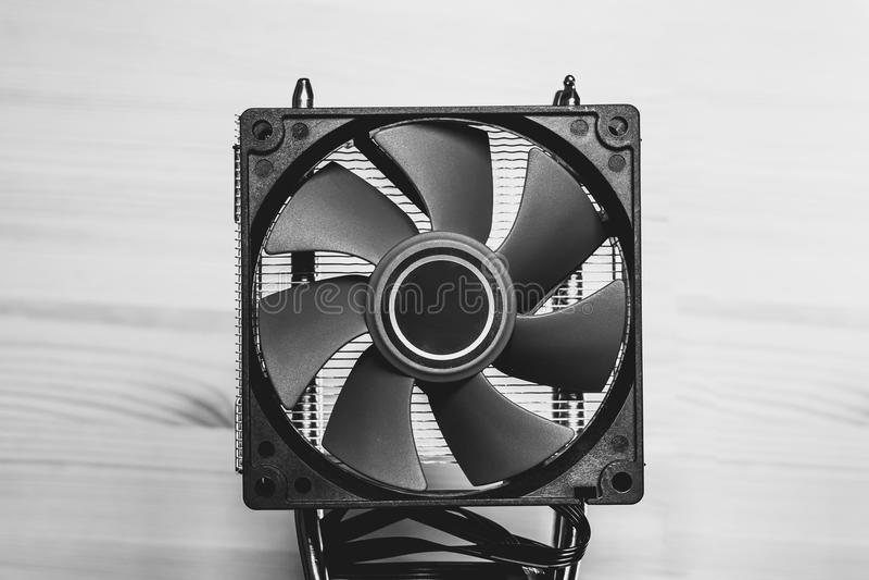 Fan för CPU royaltyfria bilder