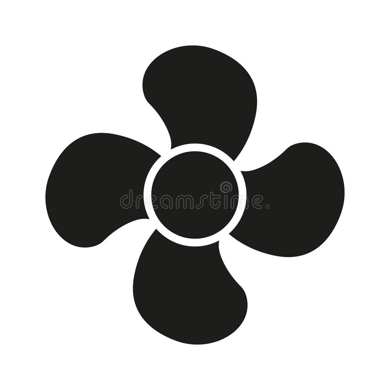 The Fan Icon Fan Ventilator Blower Propeller Symbol