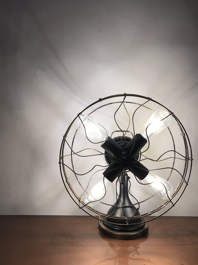 Fan-Lampe stockbild