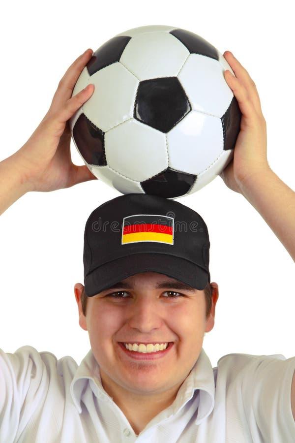 fan niemiec piłka nożna obrazy royalty free