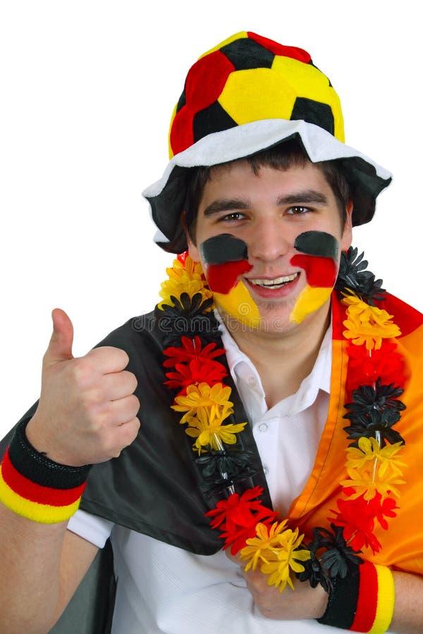 fan niemiec piłka nożna zdjęcie stock