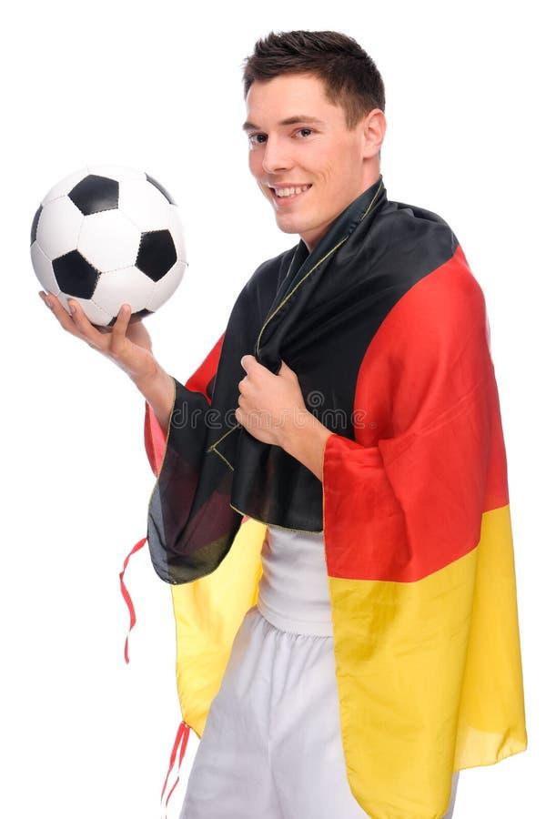 fan niemiec piłka nożna fotografia stock