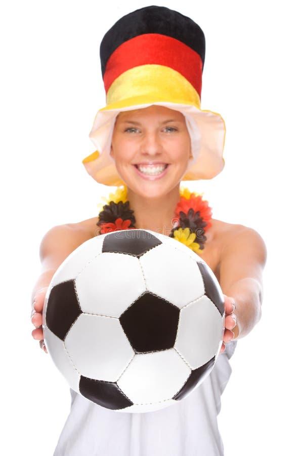 fan niemiec piłka nożna zdjęcia royalty free