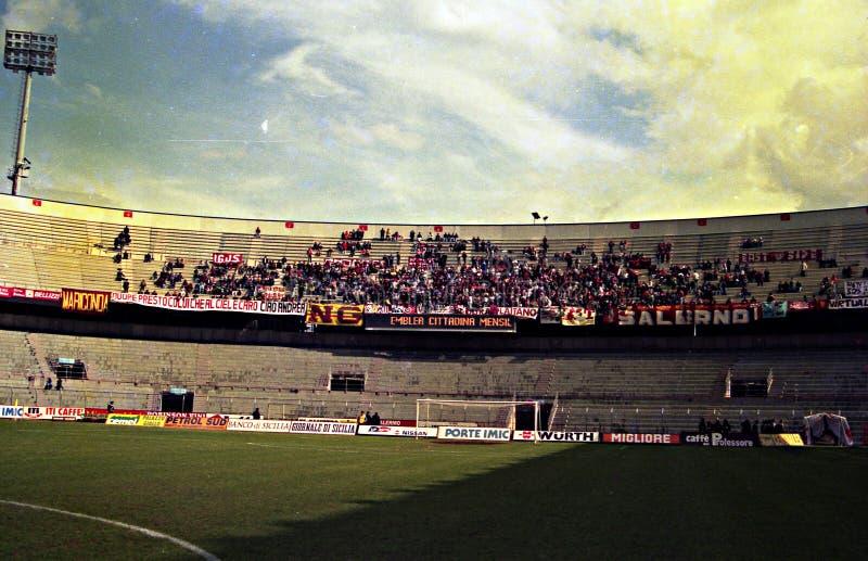 Fan a Palermo fotografia stock libera da diritti