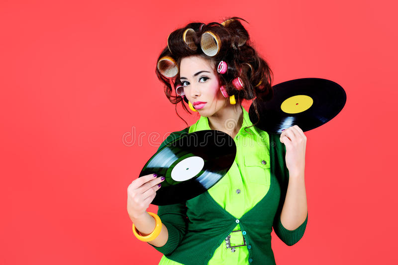 Download Fan of retro stock photo. Image of humorous, fashion - 14424948