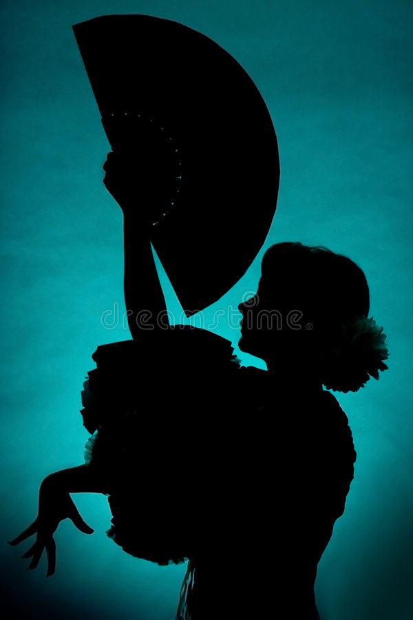 Download Fan Silhouette Royalty Free Stock Image - Image: 3588376