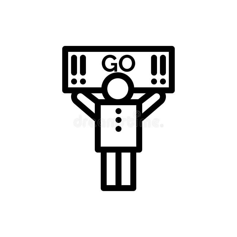 Fan, sport, supporto, blu del sostenitore e download rosso ed ora comprare il modello della carta del widget di web illustrazione vettoriale