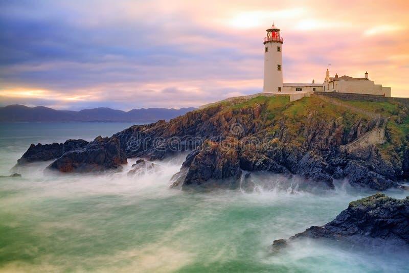 Fanad灯塔, Co Donegal,爱尔兰 图库摄影