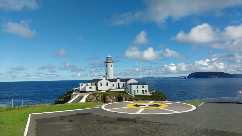 Fanad head lighthouse stock image