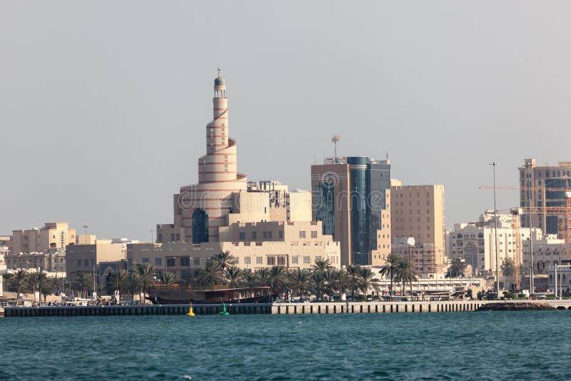 FANAR卡塔尔伊斯兰教的文化中心 图库摄影