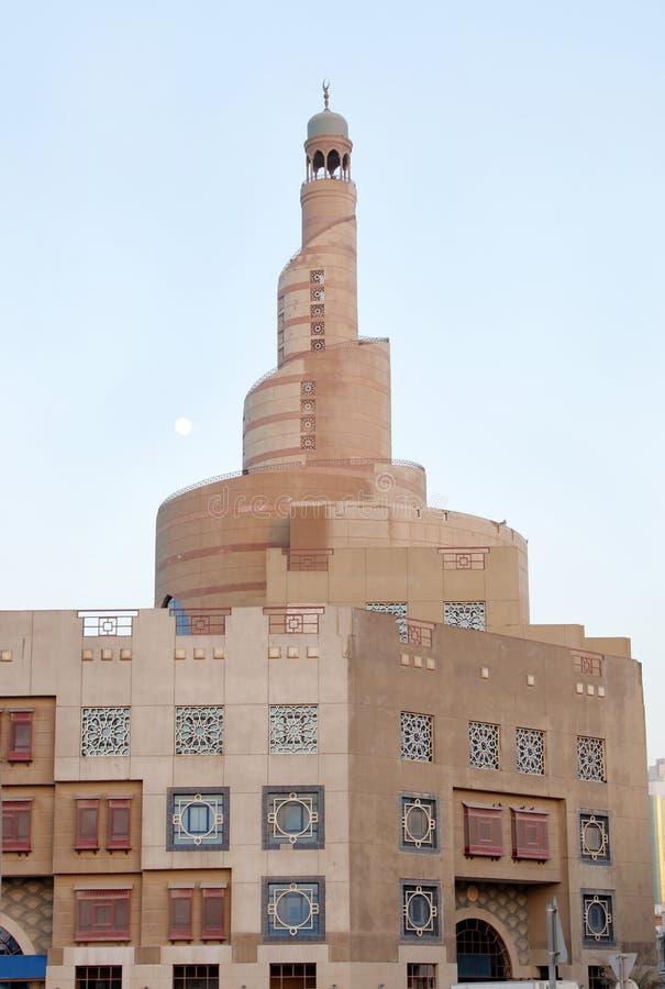 Fanar,卡塔尔伊斯兰文化中心 库存照片