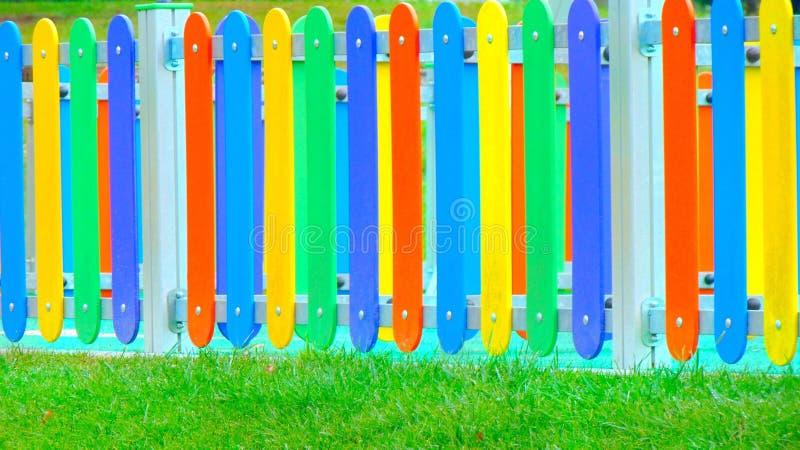 Fances dell'arcobaleno fotografie stock libere da diritti