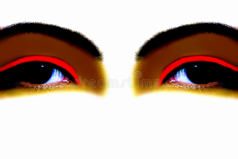 Download Fanciful Eyes Stock Photo - Image: 735780