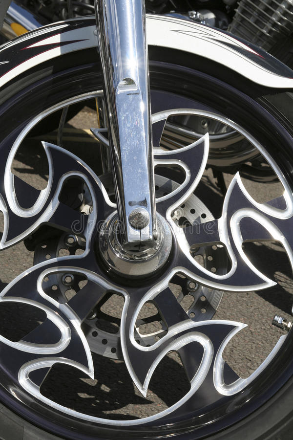 Download Fancy Alloy Motorcycle Wheel Stock Image - Image: 28901985