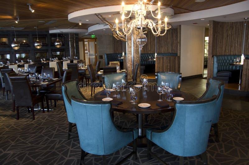 Fancy bar restaurant stock photos