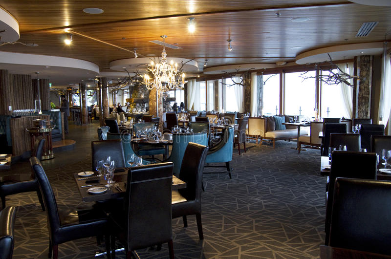 Fancy bar restaurant royalty free stock image