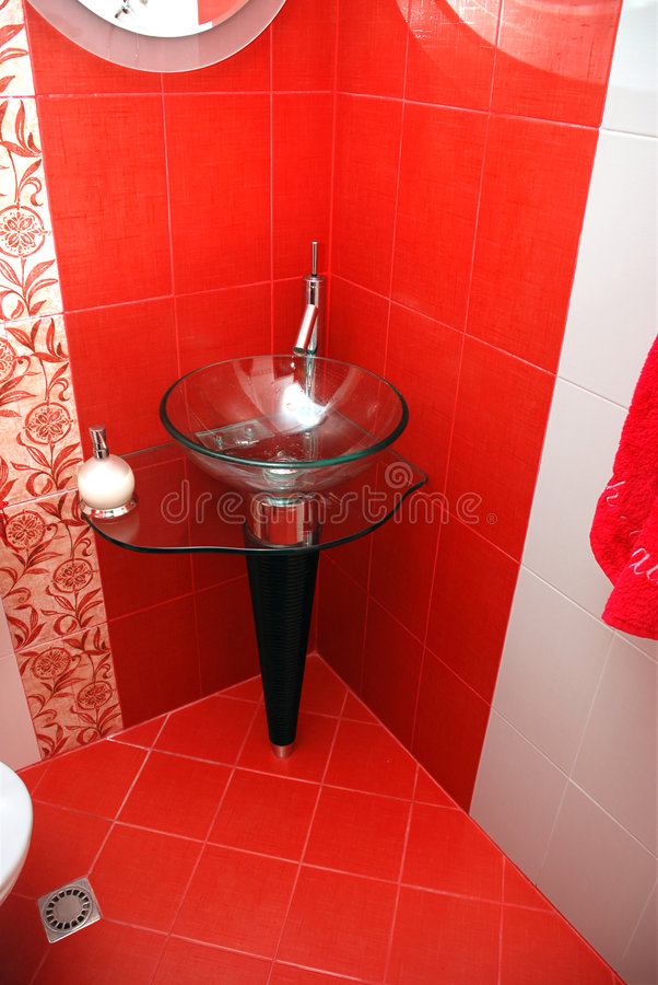 Fancy Bathroom stock images