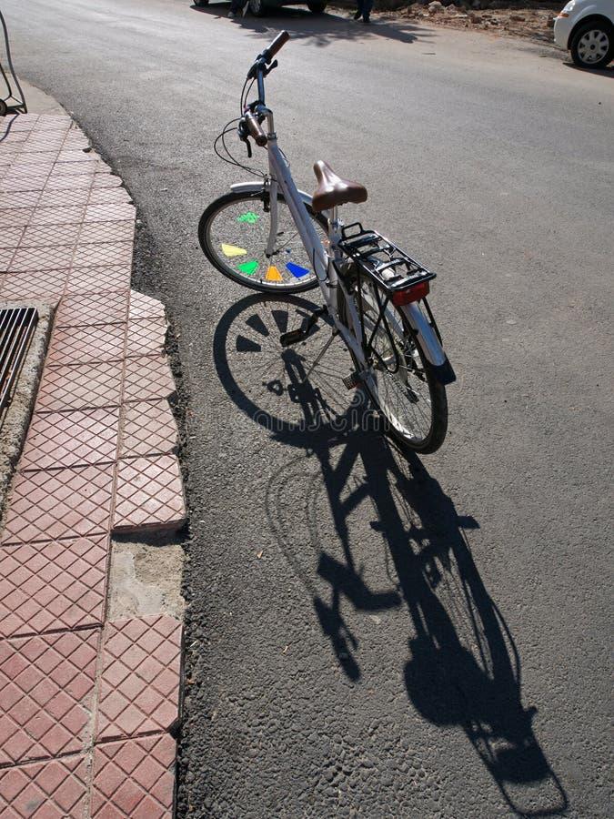 Download Fancy Bike stock image. Image of backlit, city, ornate - 37927641