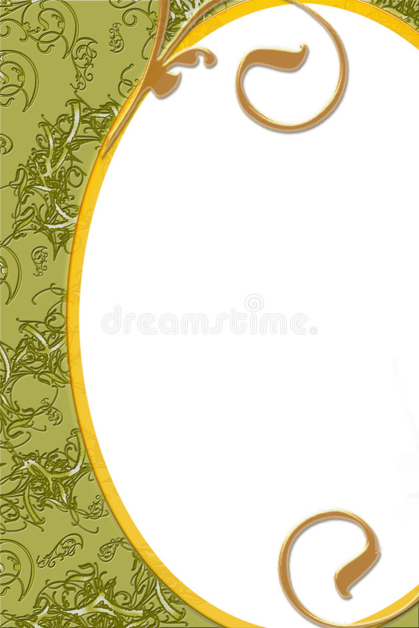 Fancy bordered background stock image