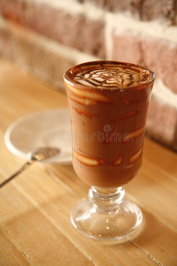 Free Fancy Chocolate Pudding Royalty Free Stock Photography - 24891027