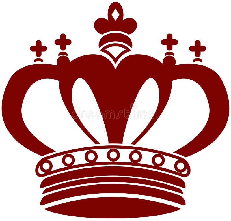 Fancy Crown vector illustration
