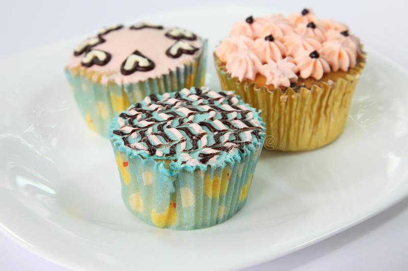 Download Fancy decorated cupcakes stock image. Image of fancy - 11058855