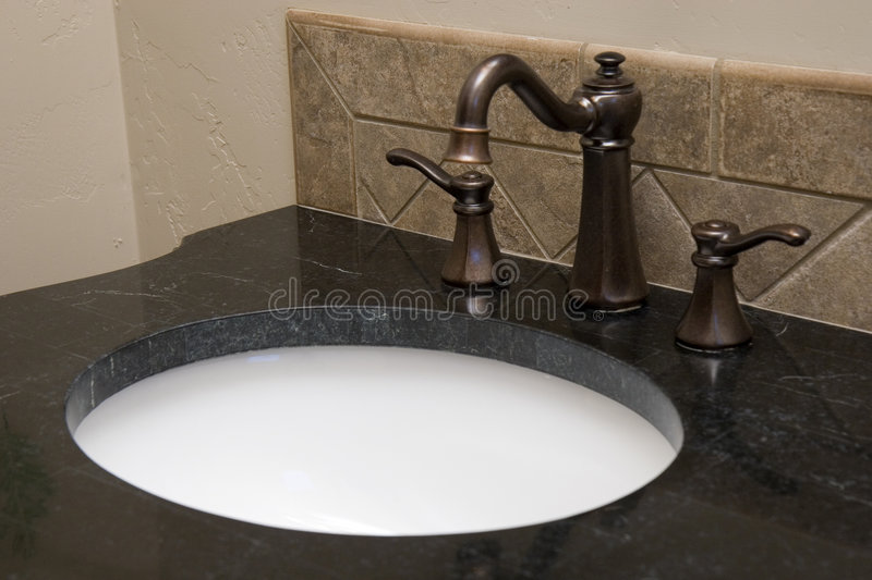 Fancy faucet royalty free stock photography