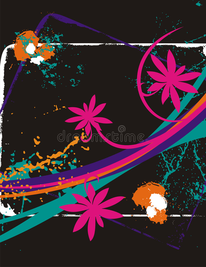 Download Fancy floral background stock vector. Image of fantasy - 2178027