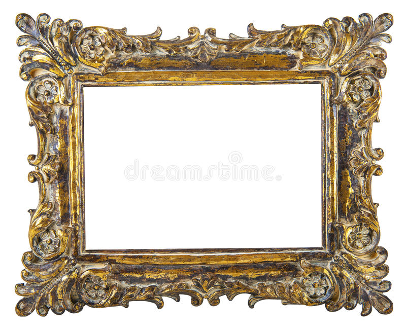 Fancy Gold Picture Frame Stock Photo Image Of Square