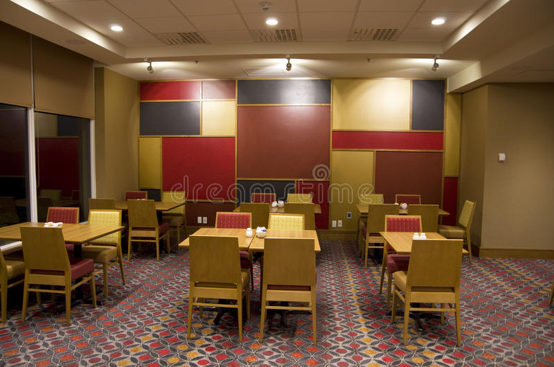 fancy hotel restaurant stock photography